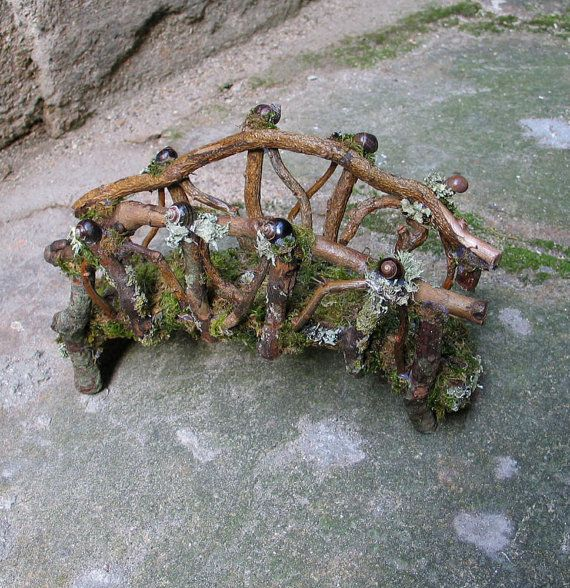 Fairy Garden Bridge By Etsy Seller Pandorajane
