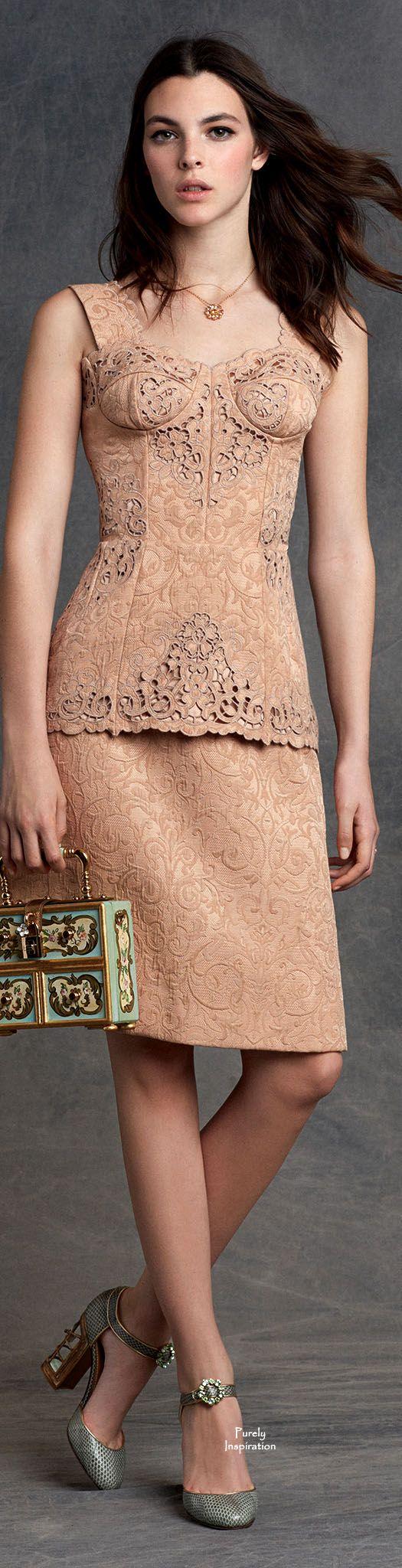 Dolce&Gabbana FW2015 Women's RTW | Purely Inspiration