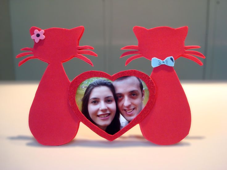 Aprenda a fazer esse porta retrato personalizado para o Dia dos Namorados!