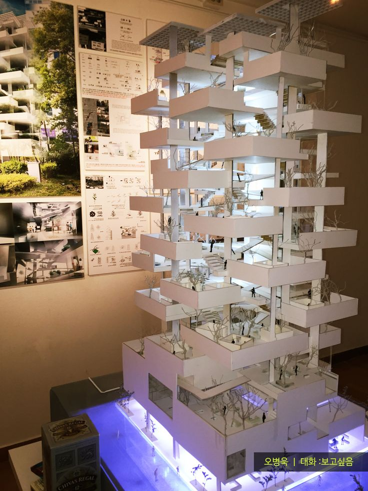 2016 홍익대학교 건축학과 졸업전시회 모형사진 2016 Hongik Univ. School of Architecture Graduation Exhibition Model.