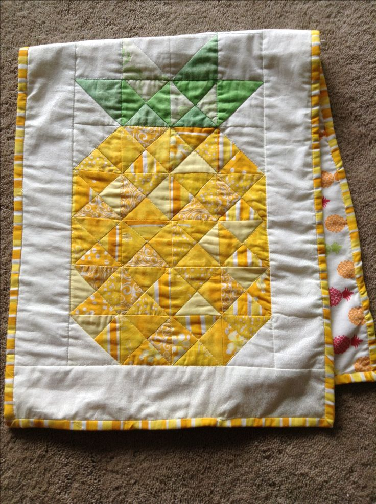 Pineapple Table Runner Quilting Pinterest Patchwork