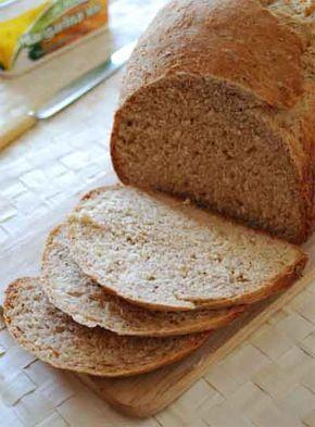 Pan integral de avena. Receta para panificadora