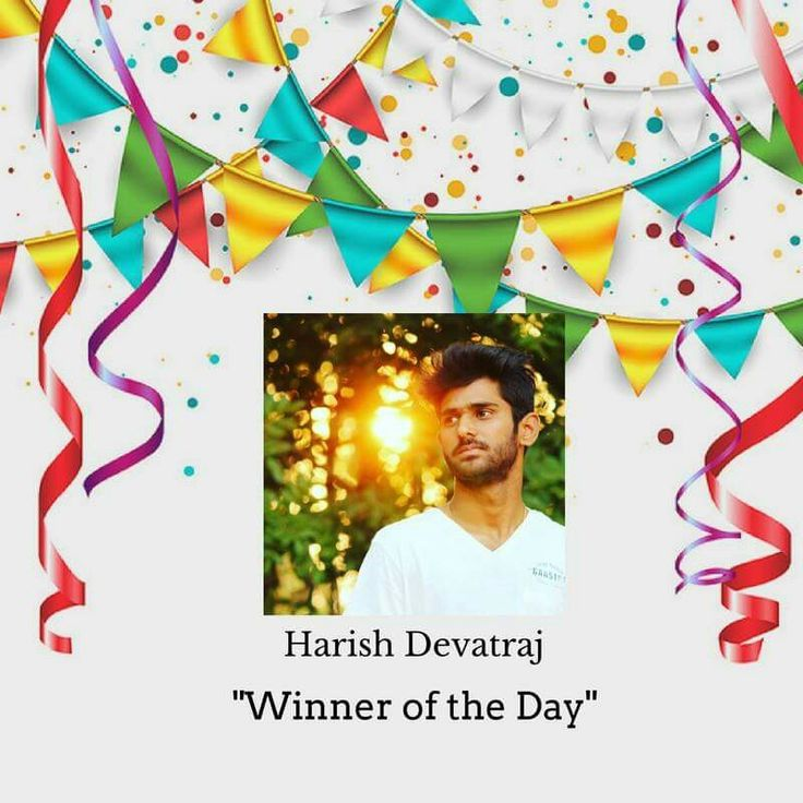 Heartiest Congratulations to Harish Devatraj. All the best for the next riddle. #timeforpet #contestalert #contest #timeforcontest #riddle #solveitwinit #bangalore #thursday