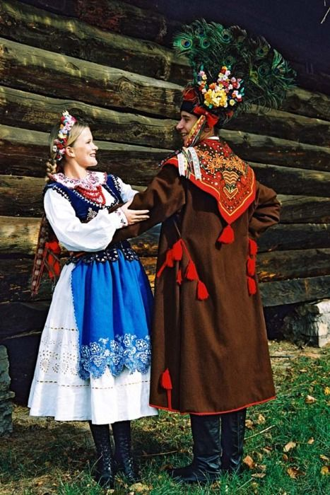 Folk. Clothing. Poland. Krakow.
