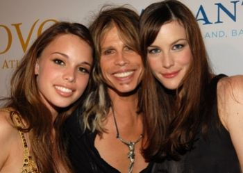 Steven Tyler and daughters Liv Tyler (right) and Chelsea Tallarico (left). PINNER'S NOTE: This is NOT a Leibovitz photo...just clarifying an earlier post on a Leibovitz photo of Steven Tyler.