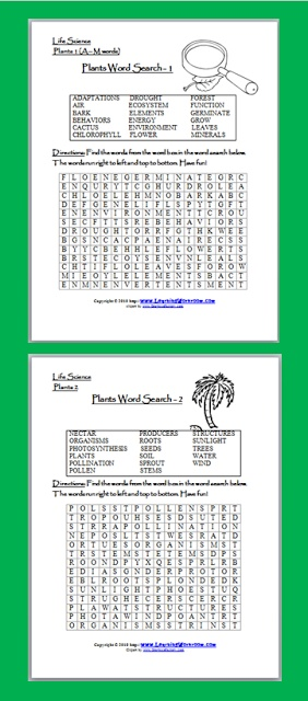 FREE Word Search Puzzles