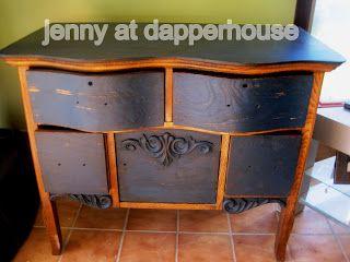 Painting Vintage Furniture for Sale @Jen At Dapperhouse jennyatdapperhouse.com