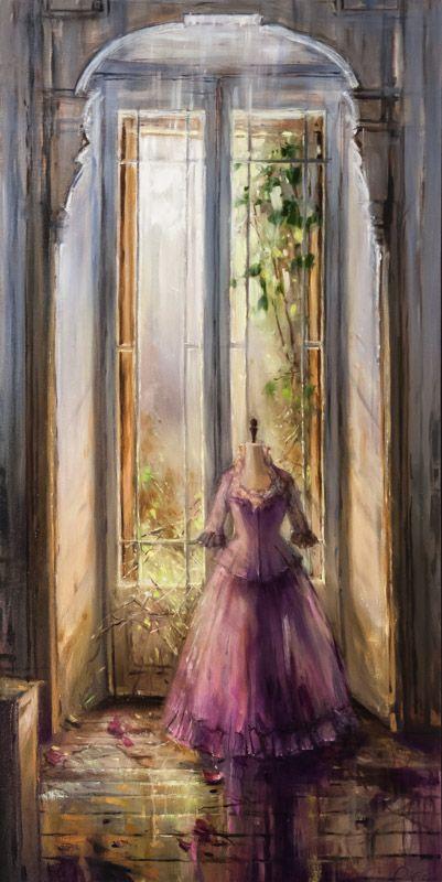 Pierre Giroux | Painters 60 x30 dreamy colours, soft