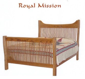 Royal Craftsman Mission Furniture Queen Sized Bed
