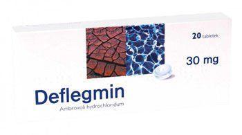 DEFLEGMIN 30mg tablets x 20, chronic bronchitis treatment