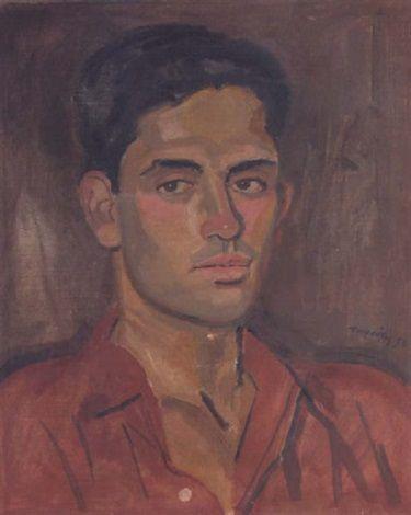 Portrait of Professor Louis Martinez by Yannis Tsarouchis