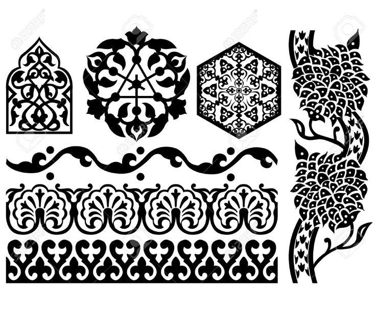 Islamic Design Stock Vector Illustration And Royalty Free Islamic ...