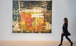 Swamped by Peter Doig, which fetched a record $26m at a US auction