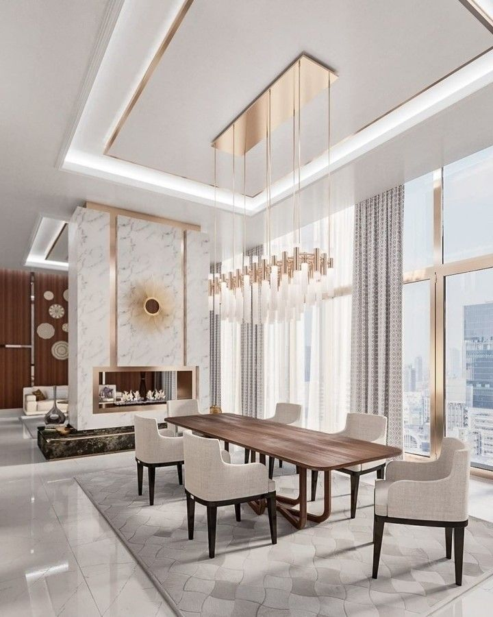 Interior Design Trends 2021 Luxury Minimal Design Is Here To Stay Living Room Decor Modern Luxury Dining Room Interior Design Dining room design ideas 2021