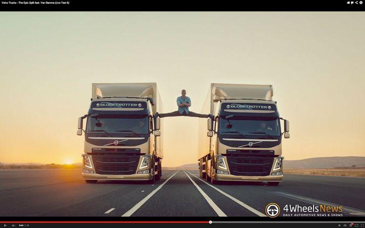 #Volvo Trucks shows The Epic Split featuring Van Damme [w/video]  http://www.4wheelsnews.com/volvo-trucks-shows-the-epic-split-featuring-van-damme-w-video/