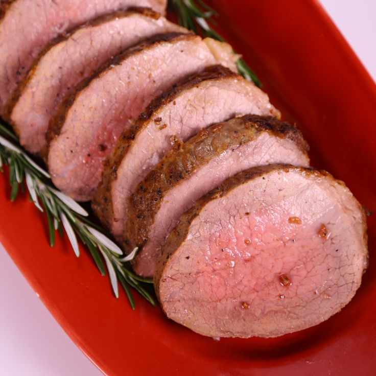 Herb-Crusted Round Roast With Parmesan-Black Pepper ...