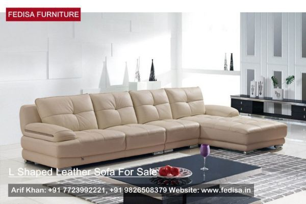 L Shape Sofa Set, L Shaped Sofa, Leather Sectional With Chaise ...