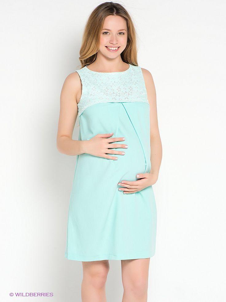 Маленькое платье прямого свободного силуэта скомбинировано из атласной ткани с рельефной кружевной поверхностью (лиф) и тонкого плательного стрейчевого крепа. Великолепно сидит по  фигуре на любом сроке беременности благодаря глубокой встречной  складке под лифом. Великолепный женственный наряд для будущей мамы!