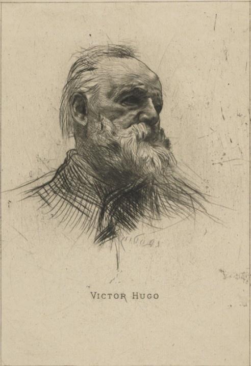 Victor Hugo, de trois quarts, (1885)  Auguste Rodin