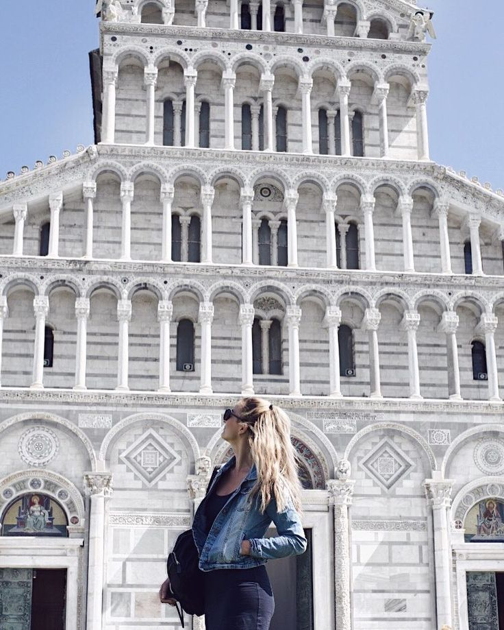 Still thinking about our trip to Italy  this is in Pisa  #pisa #Italy #trip #travel #traveling #blogger #tuscany #toscana #czechgirl #girl #outfit #backtoschooloutfit #blondie #backpack #blogerka #likeforlike #l4l #like4like #pictureoftheday #outfitoftheday #littleblackdress #converse #calvinklein #architecture #history