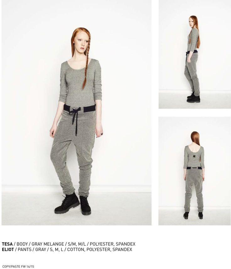 nenukko.com #gray #melange #pants