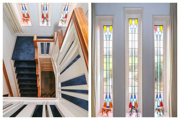 17 beste afbeeldingen over jaren 30 glas in lood op pinterest modellen villa 39 s en amsterdam - Vervoeren van een trappenhuis ...