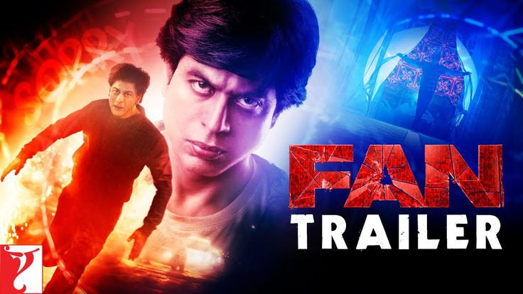 Watch #FAN Official Trailer starring #ShahRukhKhan