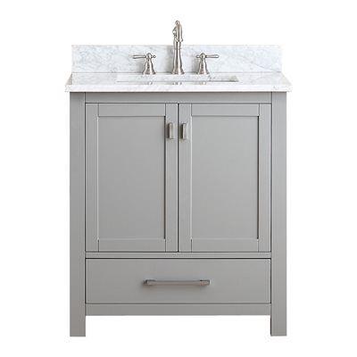 Avanity MODERO-VS30-CG Modero 30-in Bathroom Vanity Combo