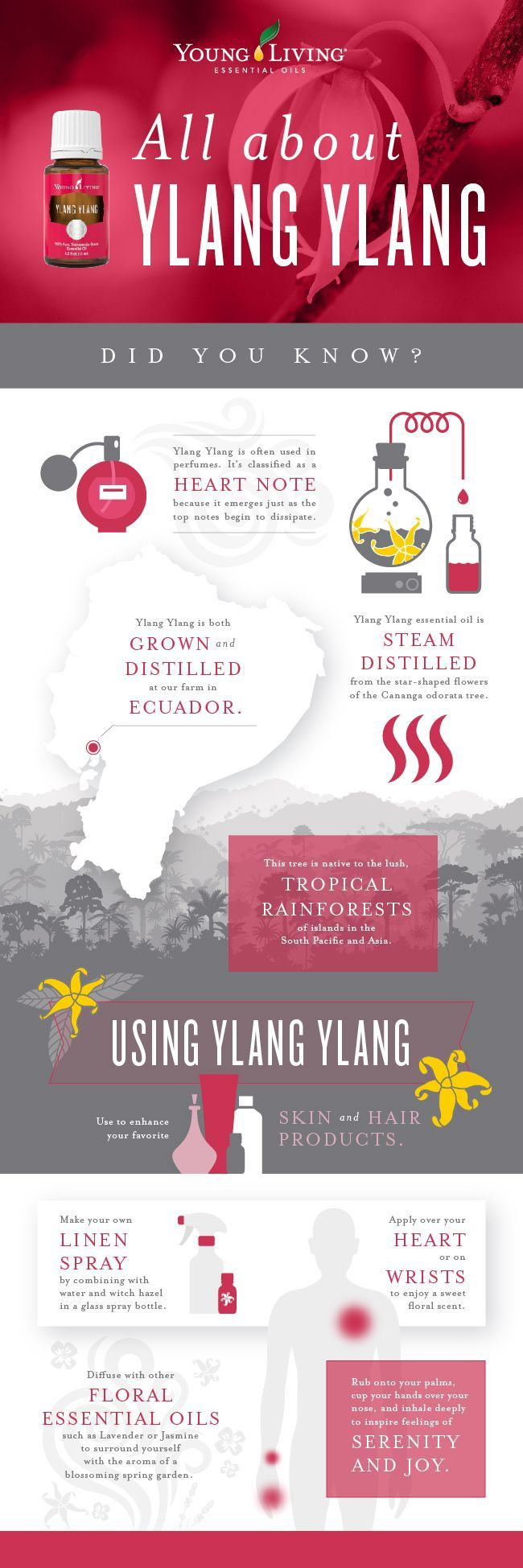 Click to see all of our recipes featuring Young Living's Ylang Ylang essential oils!   RecipeswithEssentialOils.com
