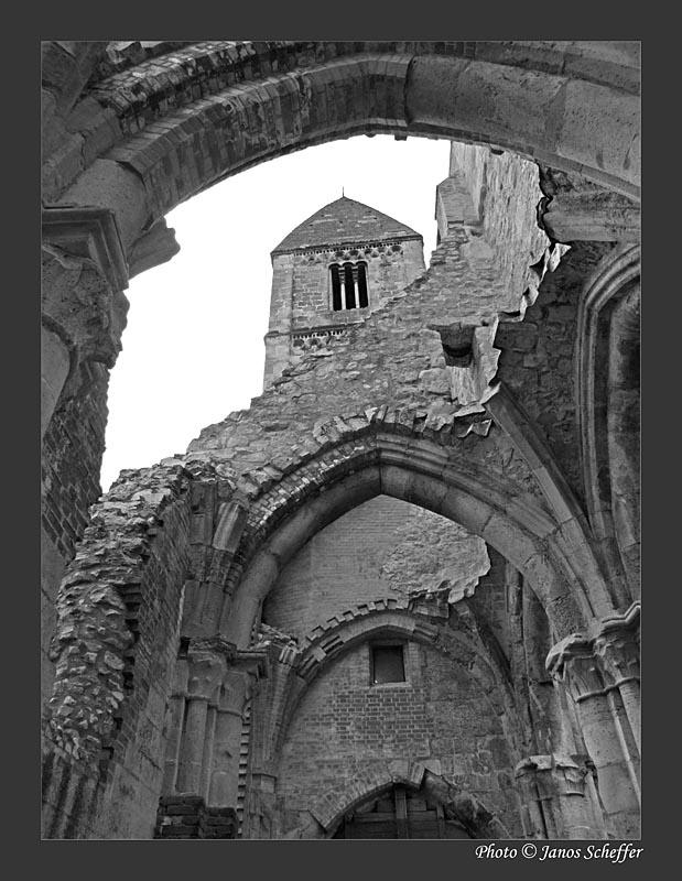 Ruins of the Zsámbék monastery, Hungary