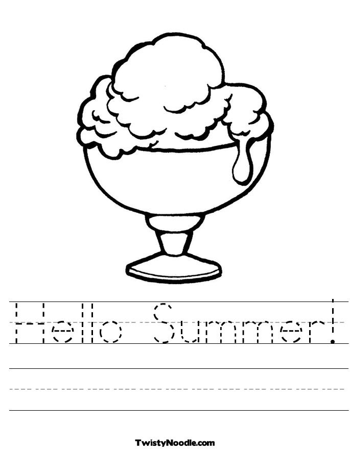 4b767a16bf3357694565af4bf519c72f  summer worksheets hello summer
