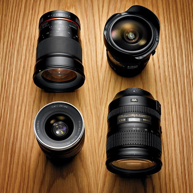 A Look at The State of Camera Lenses In 2012