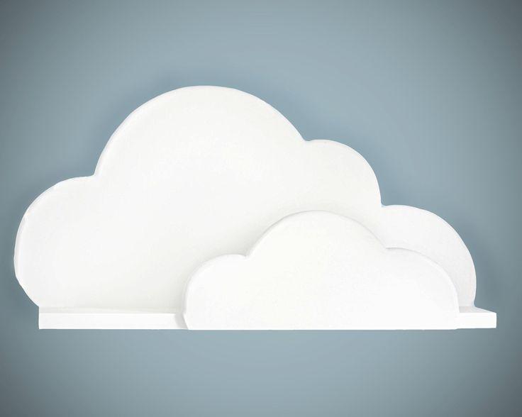 Project Nursery - Cloud Wall Shelf from ShopLittles on Etsy