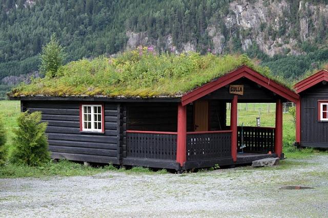 Tejados verdes en Noruega