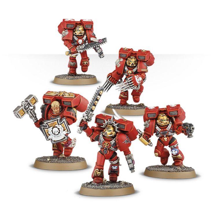 Blood Angels Vanguard Veteran Squad | Games Workshop Webstore