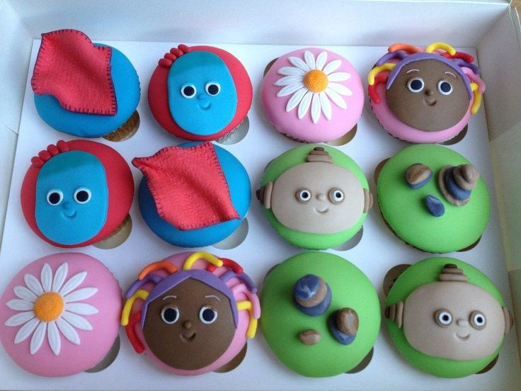 In the Night Garden cupcakes - Cake by Sugarkissedcakery