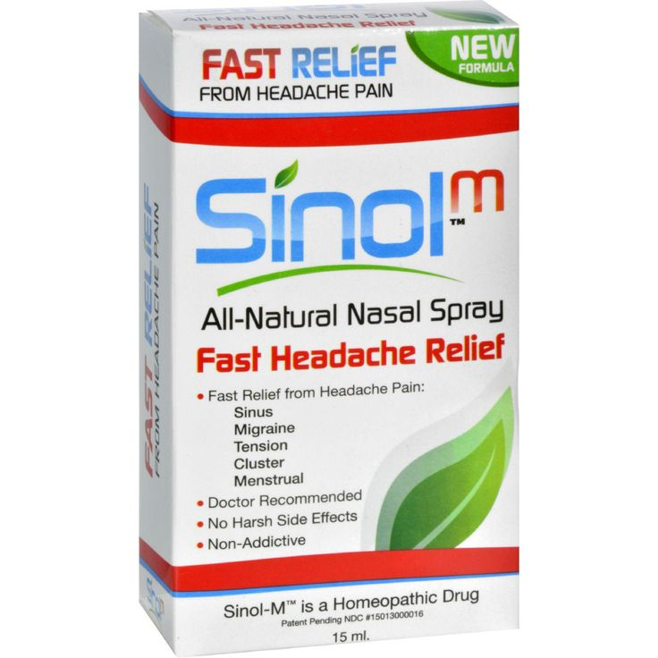 sinol headache relief nasal spray 15 fl oz sprays doctors and pharmacists. Black Bedroom Furniture Sets. Home Design Ideas