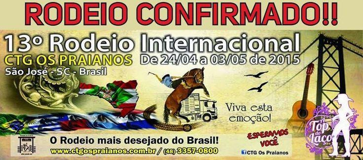 Festas de Carros de Boi: Rodeio Internacional de São José - SC
