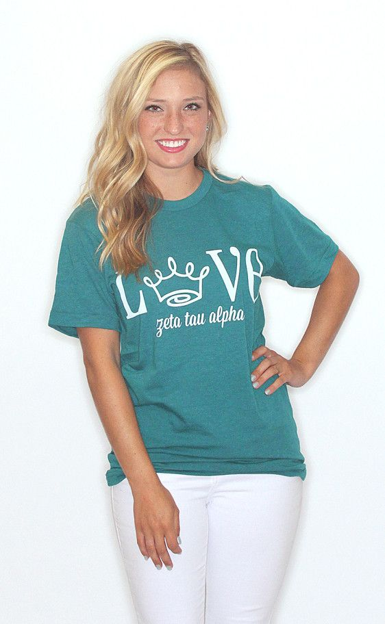 139 best zta images on pinterest zeta tau alpha for American apparel sorority shirts