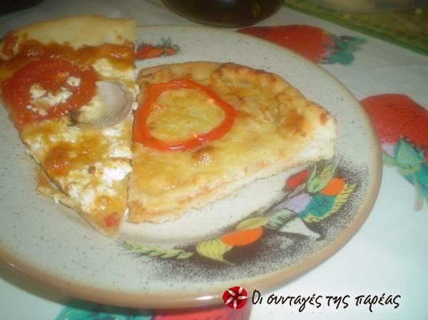 Ιταλική πίτσα #sintagespareas