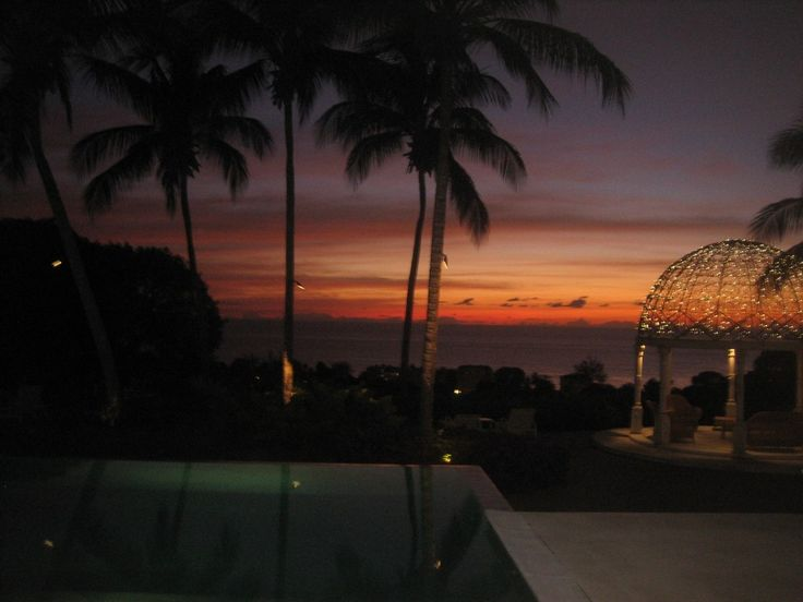 I could go for a Barbados sunset any day!