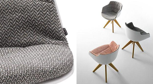 krzesła obrotowe   flow slim vn 4-legged    mesmetric concept store
