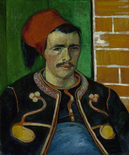 The Zouave, 1888, Vincent van Gogh, Van Gogh Museum, Amsterdam (Vincent van Gogh Foundation).
