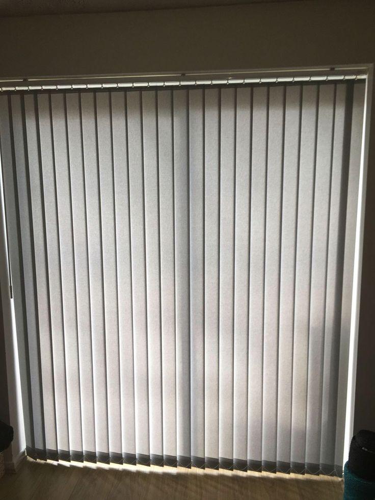 Vertical blinds for a customer, Winsford. Blindswinsford.co.uk