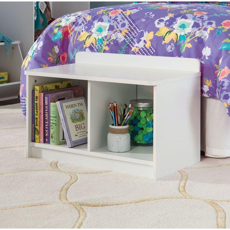 ClosetMaid Kidspace White Small Storage Bench (White) (Laminate)