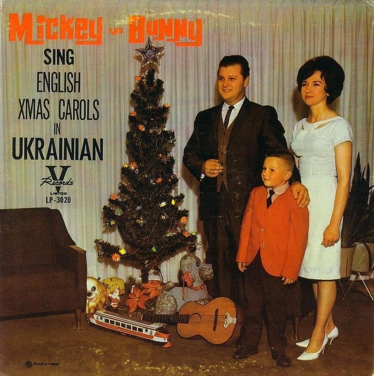 A Christmas Yuleblog: Mickey & Bunny - Sing English Xmas Carols in Ukrainian