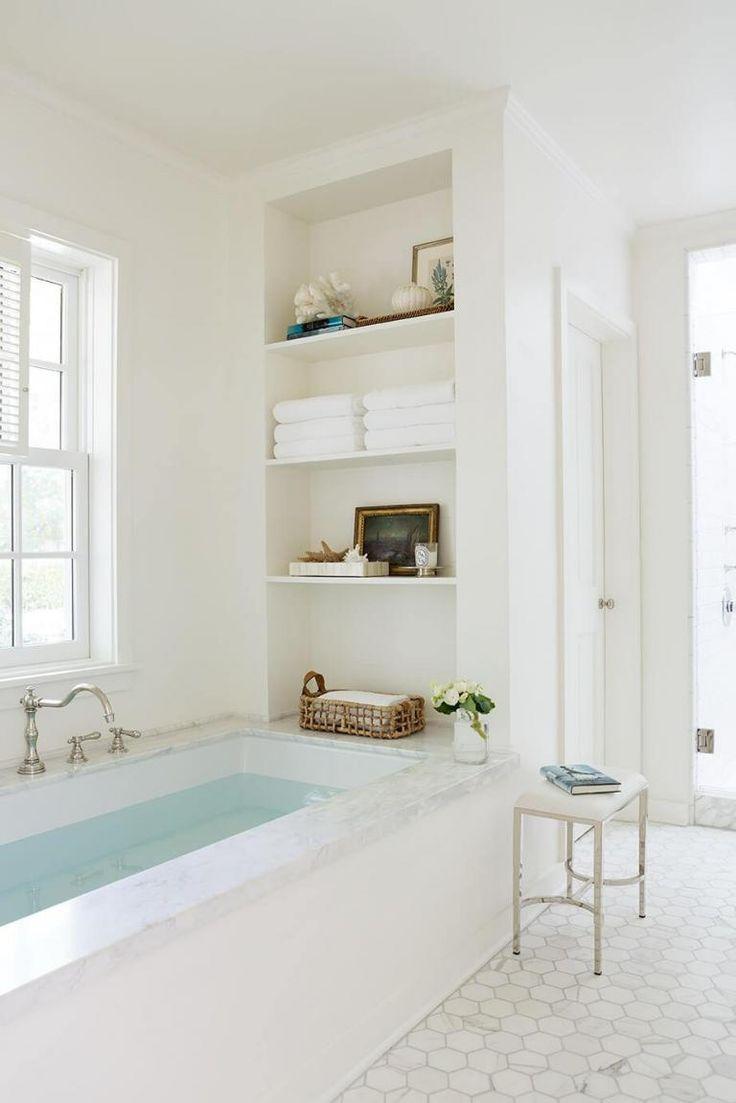 25 Ideen Fur Brillante Ablagen Und Aufbewahrungsmoglichkeiten Im Bad Badezimmer Innenausstattung Badezimmer Badezimmer Renovieren
