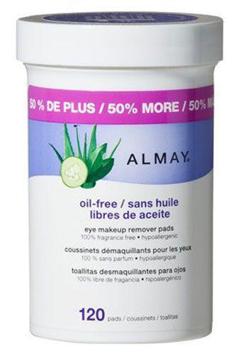 Almay Oil-Free Makeup Remover Pads