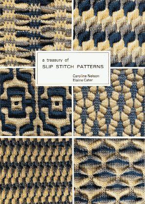 Knitting Stitch Patterns Book : 77 best images about Knitting: Mosaic and Slipped Stitches on Pinterest Kni...