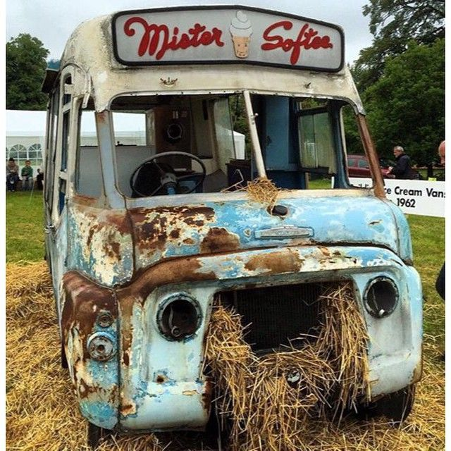Retirement. An old ice cream truck in ruin.  _ shot by @grappenhall _